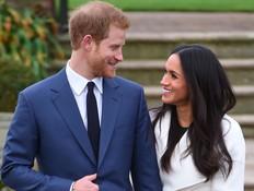הנסיך הארי ומייגן מרקל (צילום: Twitter/Kensington Palace)