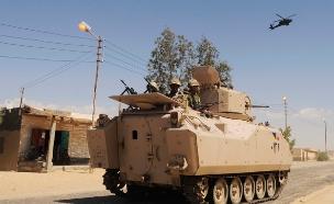 כוחות צבא מצרים, ארכיון (צילום: רויטרס)