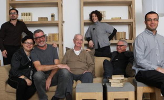 משפחת קסטיאל (צילום: אריק סולטן, מעריב)
