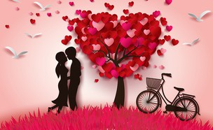 אהבה (צילום: kateafter | Shutterstock.com )