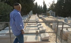 """אחיו של החייל משה כהן ז""""ל (צילום: חדשות 2)"""