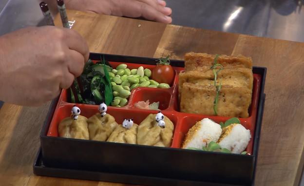 """כיסוני טופו ממולאים באורז ופטריות (צילום: מתוך """"מאסטר שף"""" עונה 7, קשת)"""
