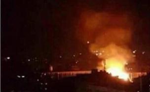 התקיפה מדרום לדמשק, שלשום