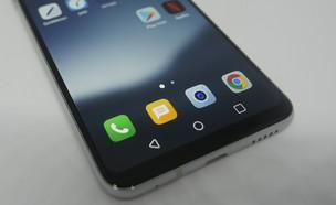 סמארטפון LG V30+ (צילום: אהוד קינן)
