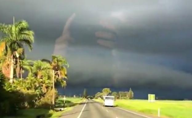 יד אלוהים (צילום: רדיט)