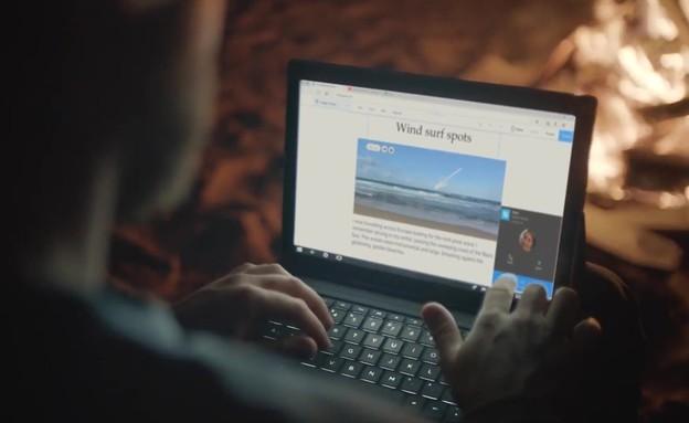 מחשב נייד HP Envy x2 על מעבד קואלקום (צילום: HP, יוטיוב)