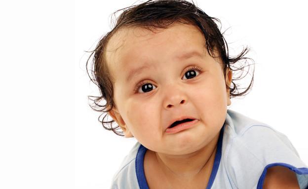 תינוקת עצובה (צילום: infocus, ShutterStock)