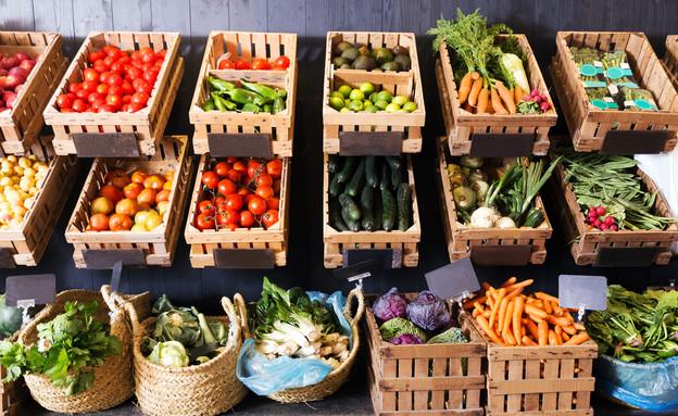 ירקות בשוק (צילום: kateafter | Shutterstock.com )