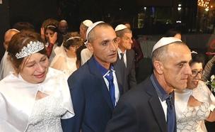 חתונה לא שגרתית: הכתבה המלאה (צילום: החדשות)
