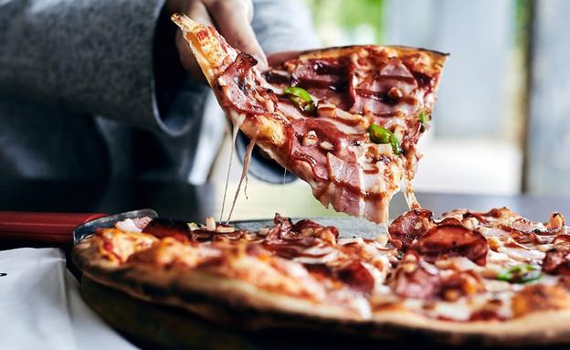 מגש פיצה קאלדו באר שבע (צילום: אמיר מנחם, אוכל טוב)