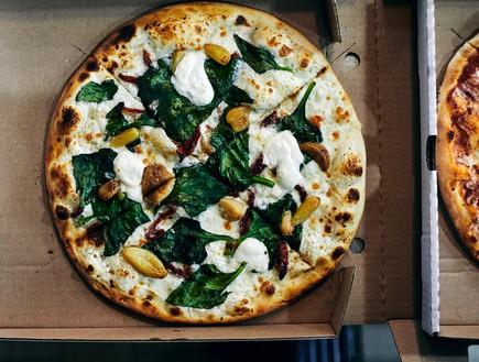 מגש פיצה קאלדו צמחונית באר שבע
