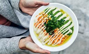 החומוס של טחינה חומוס צבעוני (צילום: אמיר מנחם, אוכל טוב)