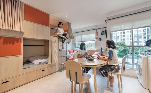 דירת סטודנטים בנגקוק (27) (צילום: Fabrica)