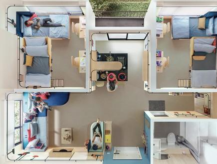 דירת סטודנטים בנגקוק, מלמעלה (2)