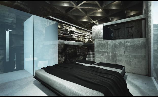 בית על הצוק (12) (צילום: LAAV ARCHITECTS)