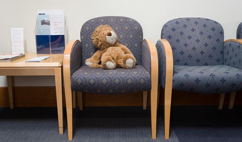 חדר המתנה של רופא ילדים (צילום: shutterstock)