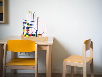 חדר המתנה של רופא ילדים