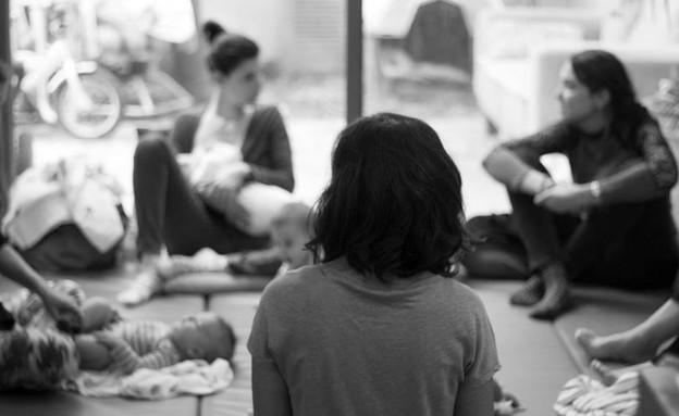 חנוכה 2017: סדנת אמהות והנקה (צילום: לין ממרן)