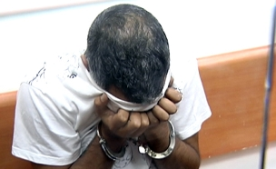 הורשע בסחיטת בנק יהב, שרעבי (צילום: חדשות 2)