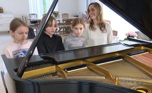 הכירו את דור הפסנתרנים של העתיד (צילום: החדשות)