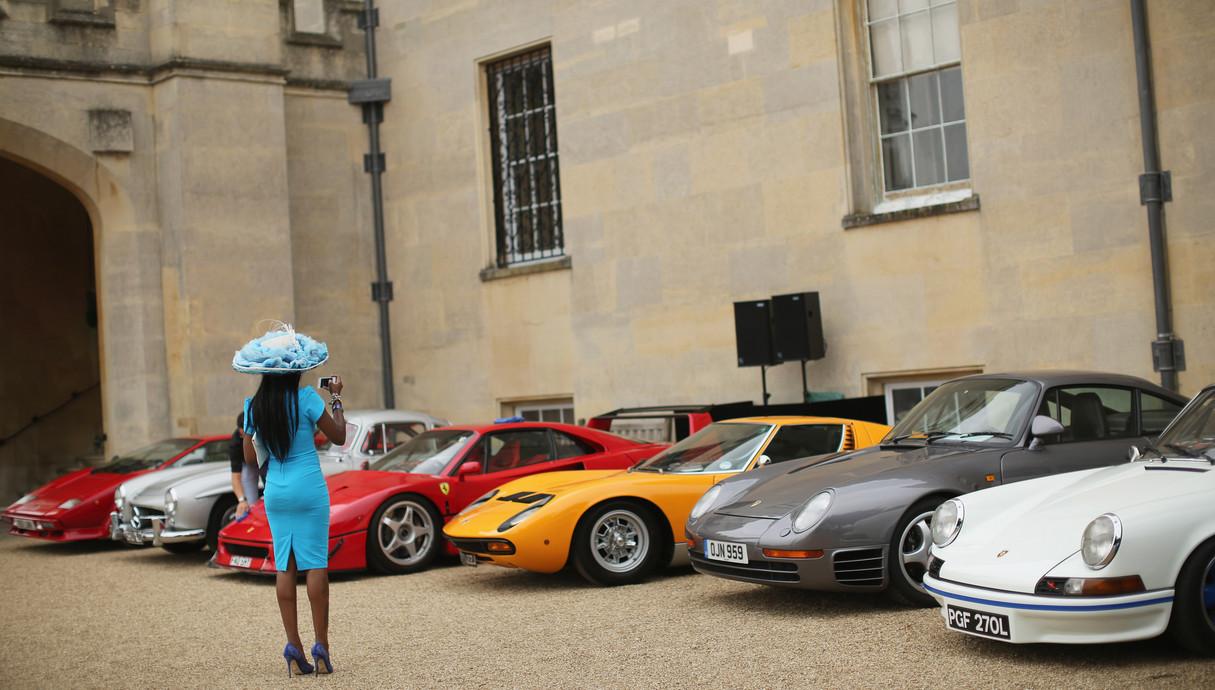 מכוניות יוקרה בלונדון