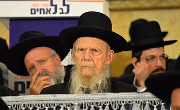 הרב גרשון אדלשטיין, יורשו של הרב שטיינמן (צילום: בעריש פילמר)