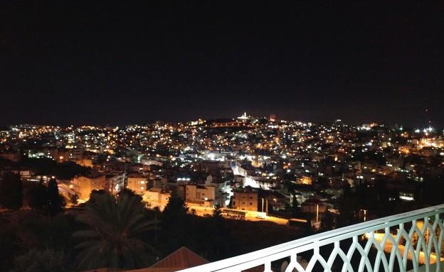 הנוף מהמלון (צילום: לילך גרינבלט)