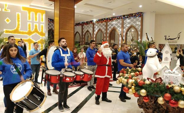 חגיגות כריסמס במלון (צילום: לילך גרינבלט)