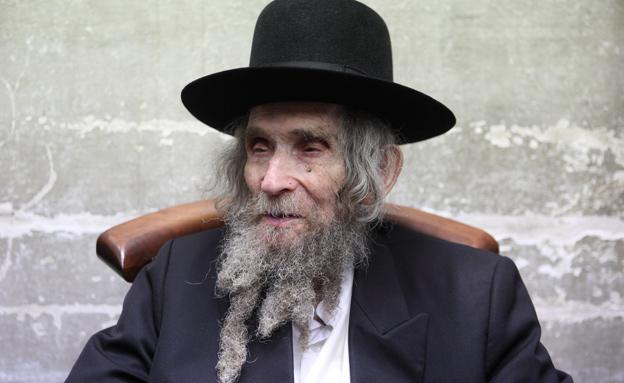 הרב אהרן יהודה לייב שטיינמן (צילום: יעקב נעמי, פלאש 90)
