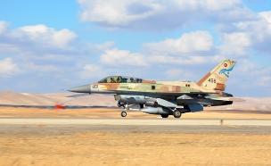 מטוס F16 של חיל האוויר. ארכיון (צילום: סליה גריון / בטאון חיל האוויר)