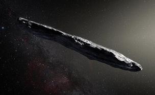 אומואמואה (הדמיה) (צילום: European Southern Observatory/M. Kornmesser)