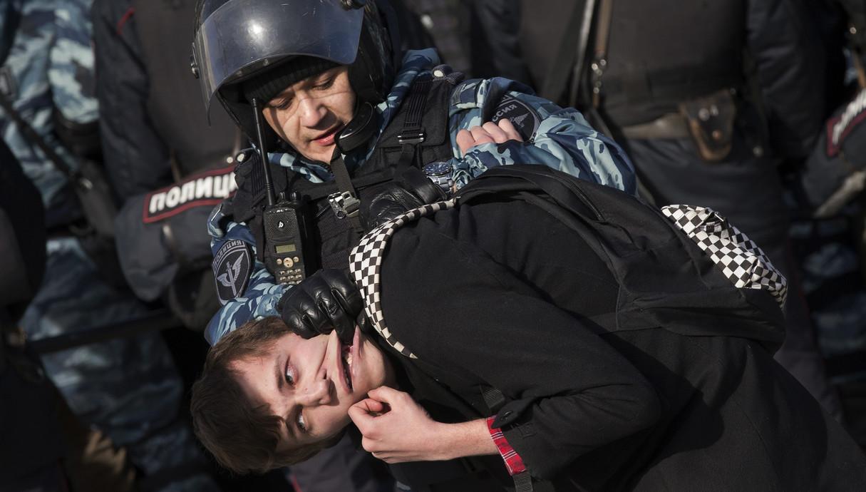 הפגנות ברוסיה 26.3