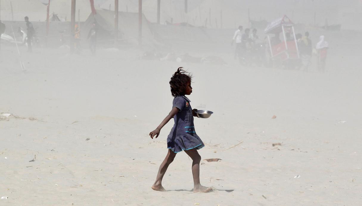 ילדה בהודו