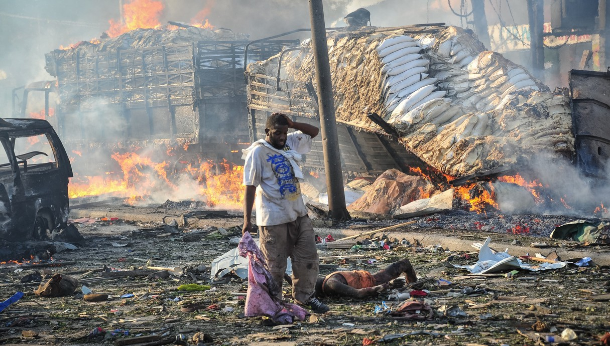 סומליה - 512 הרוגים בפיצוץ