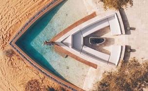 מלון באבו דאבי (צילום: traveljunkiediary אינסטגרם)
