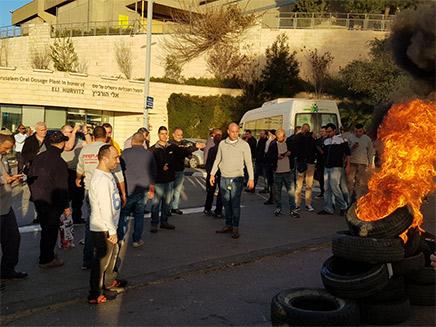 מחאת העובדים בירושלים, אתמול