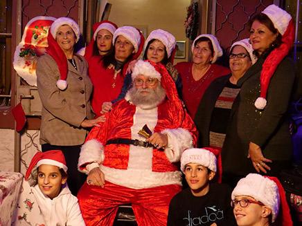 סנטה קלאוס של הצפון (צילום: החדשות)