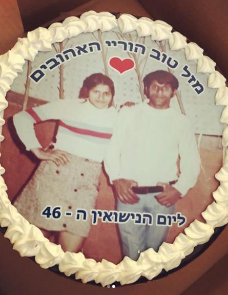 העוגה (צילום: instagram)