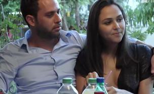"""השבוע ב""""חתונה ממבט ראשון"""": המופע של אחווה (צילום: מתוך """"חתונה ממבט ראשון"""", שידורי קשת)"""