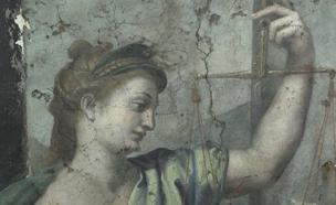 ציוריו האחרונים של האומן רפאל נחשפו (צילום: CNN)