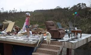 הוריקן מריה בפורטו ריקו (צילום: אימג'בנק / Gettyimages)