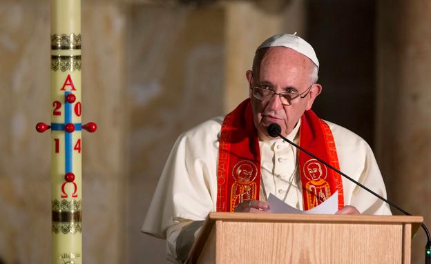 האפיפיור ישתתף בהלווייה (צילום: רויטרס)