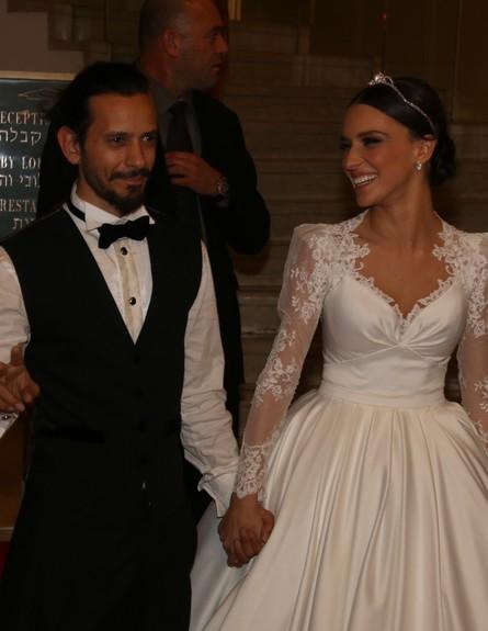 חתונה ציון ברוך ויאנה יוסף (צילום: צי'נו)