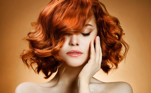 שיער זוהר (צילום: shutterstock)