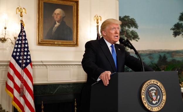 סערה חדשה? הנשיא טראמפ, ארכיון (צילום: רויטרס)
