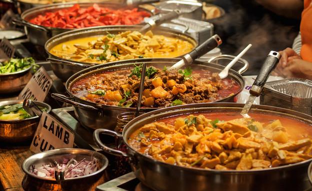 אוכל הודי טאלי (צילום: By Dafna A.meron, shutterstock)