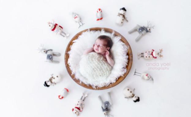 אנדה יואל 26.12 (צילום: אנדה יואל, צלמת היריון)