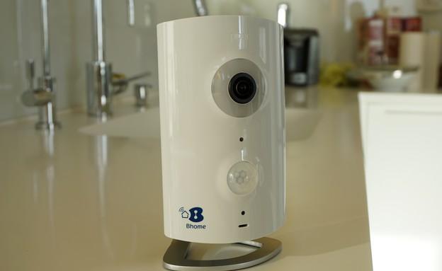 מצלמת אבטחה BHome (צילום: איתי מקמל, NEXTER)