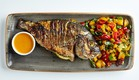 """דג בסגנון אסייאתי  (צילום: מתוך """"מאסטר שף 7"""", קשת)"""