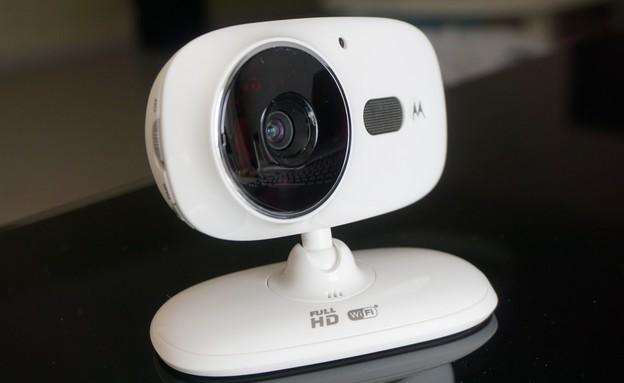 מצלמת אבטחה Motorola Focus 86 (צילום: איתי מקמל, NEXTER)